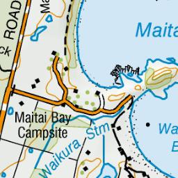 Maitai Bay Conservation Campsite Karikari Peninsula Northland Region